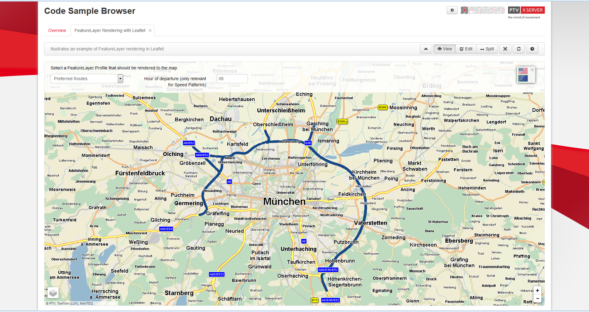 How to Use Feature Layer Preferred Routes